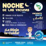En Chepes se vivirá la Noche de las Vacunas